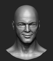 David Gilmour Head Sculpt