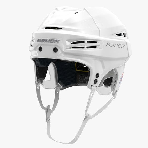 3ds max hockey helmet bauer re-akt