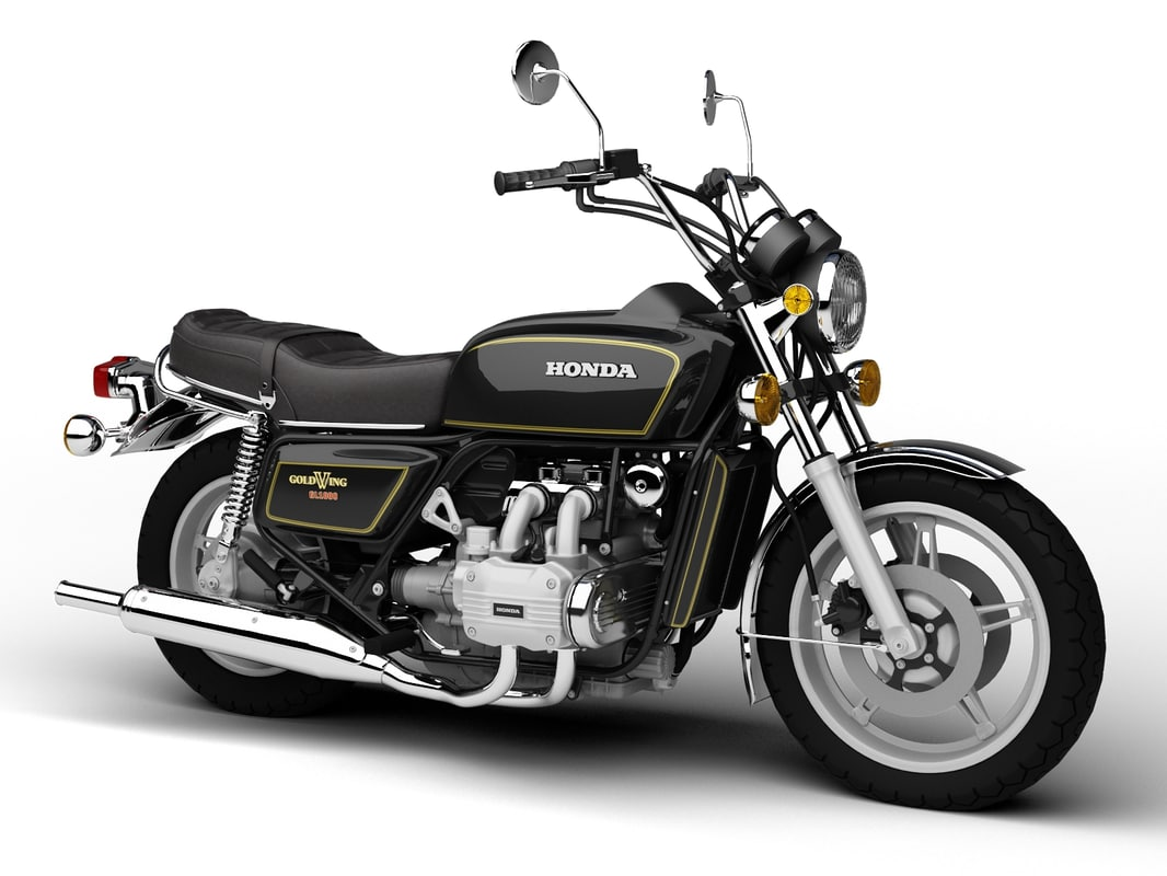 3d honda gl1000 goldwing 1978