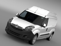 3ds max vauxhall combo h2l2 cargo