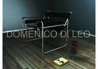 3d wassily chair