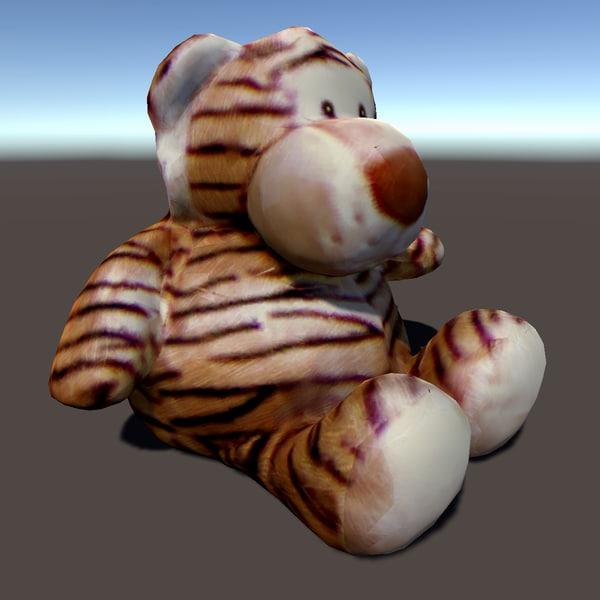 stuffed tiger 3d 3ds