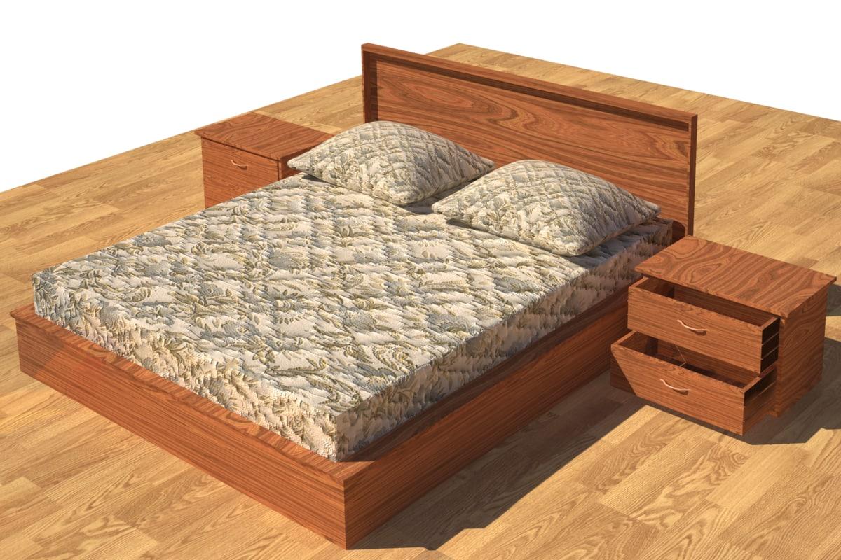 3d model of furniture caterbury