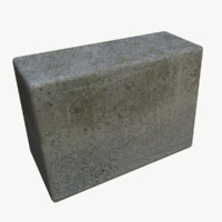 maya concrete block