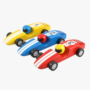 max wooden racing cars
