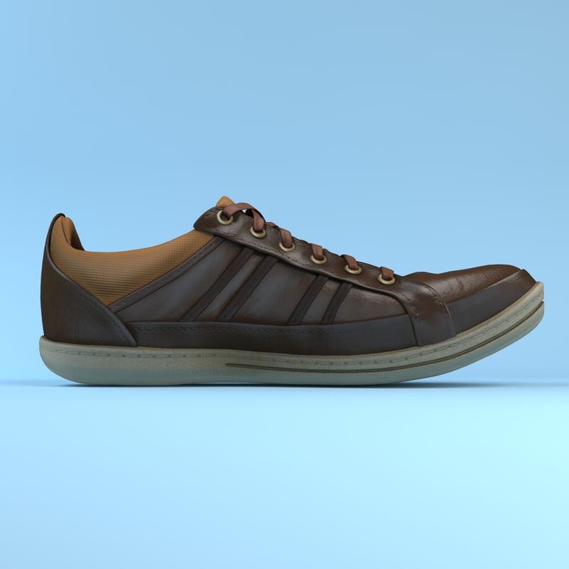 sneakers object studio max