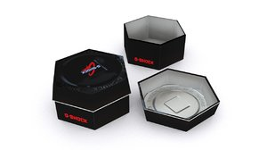 3ds max gshock watch box
