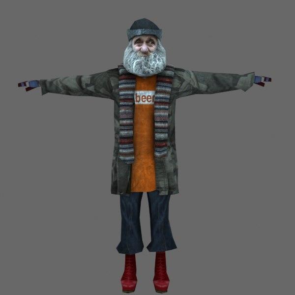 max rigged character