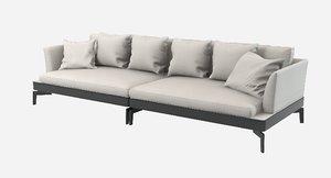 max flexform feelgood sofa