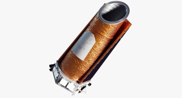 kepler space telescope 3ds