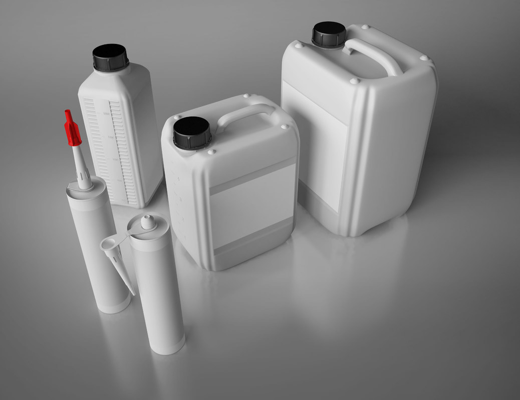 plastic containers 3d 3ds