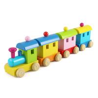 3d model wooden train