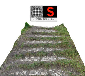 maya forest stone staircase 8k