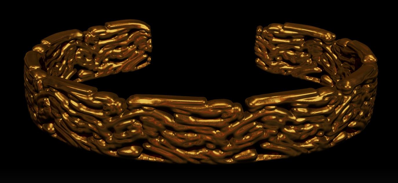 3d jewelry bracelet