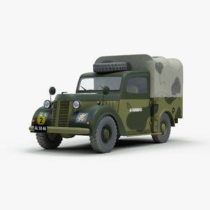 3d ww2 austin tilly