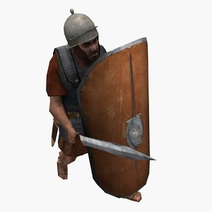 legionary eagle aquilifer 3d 3ds