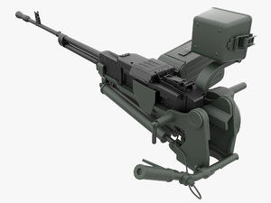 3d model nsv utes 7 heavy machine