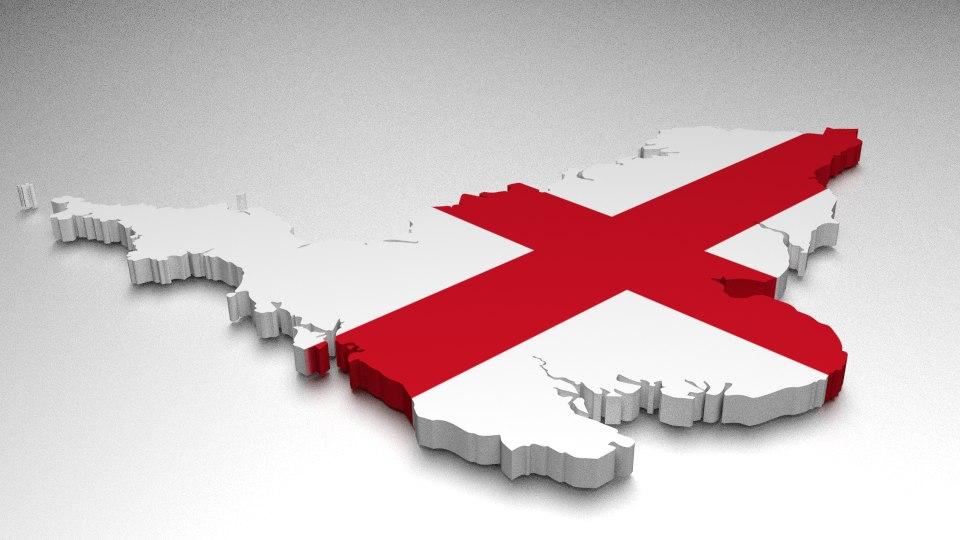 3ds england flag