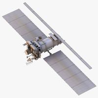 meteor m2 satellite 3d max
