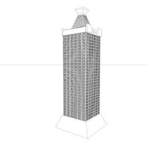 building house 3d c4d