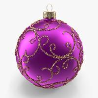 christmas bell 3d x