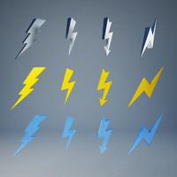 3d model lightning