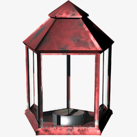lantern lightwave 3d model