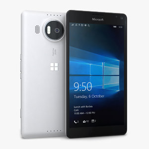 3d microsoft lumia 950 xl model