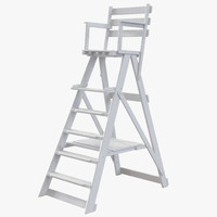 max classic umpire chair white