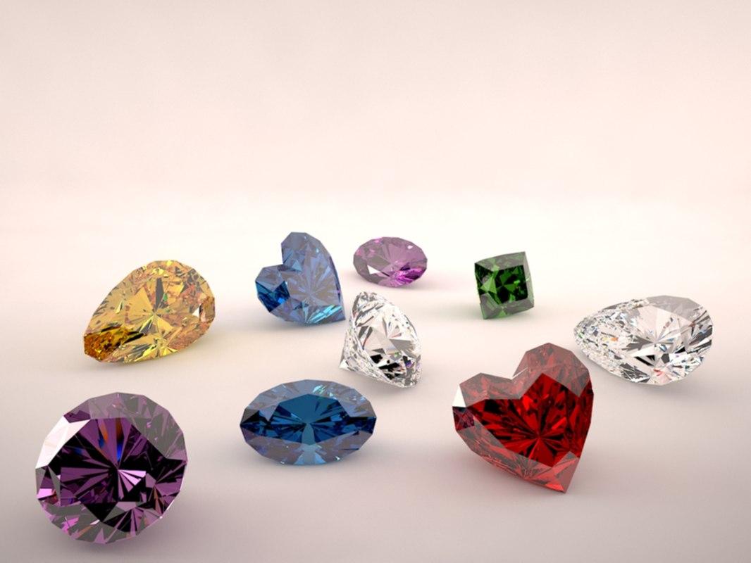 diamonds 3d 3ds