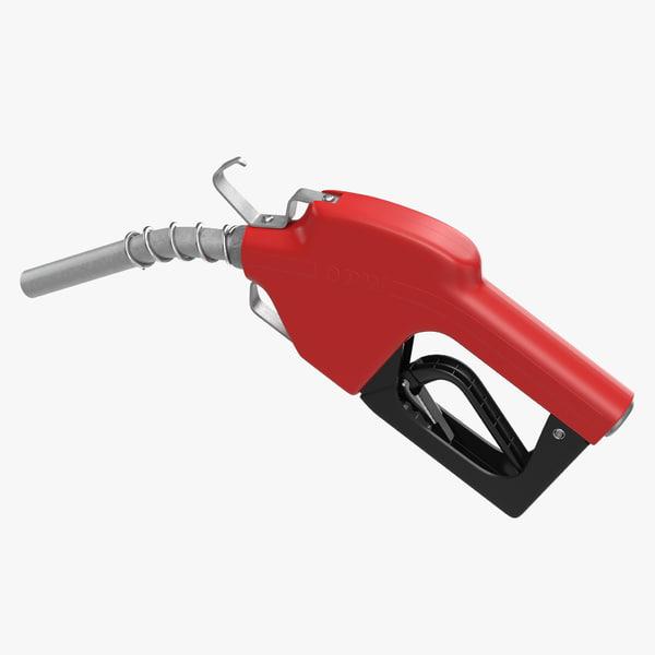3d fuel nozzle model
