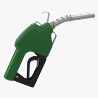 Fuel Nozzle Green 3D Model