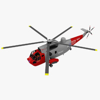 3d model sikorsky helicopter