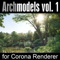 Archmodels for Corona vol. 1