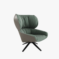 3d model b chair tabano