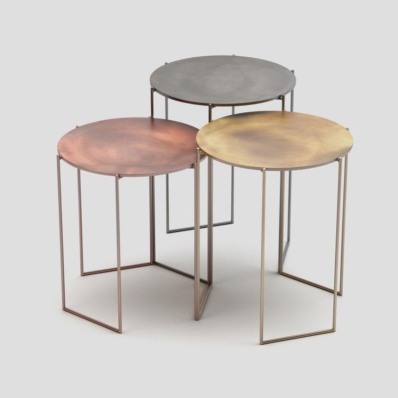 max castelli tribu small tables