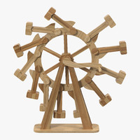 3d model perpetual motion machine