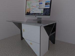 desk design 3ds