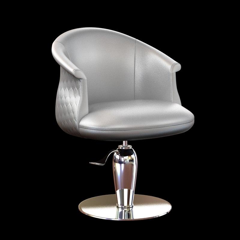 3ds max chair hair salon