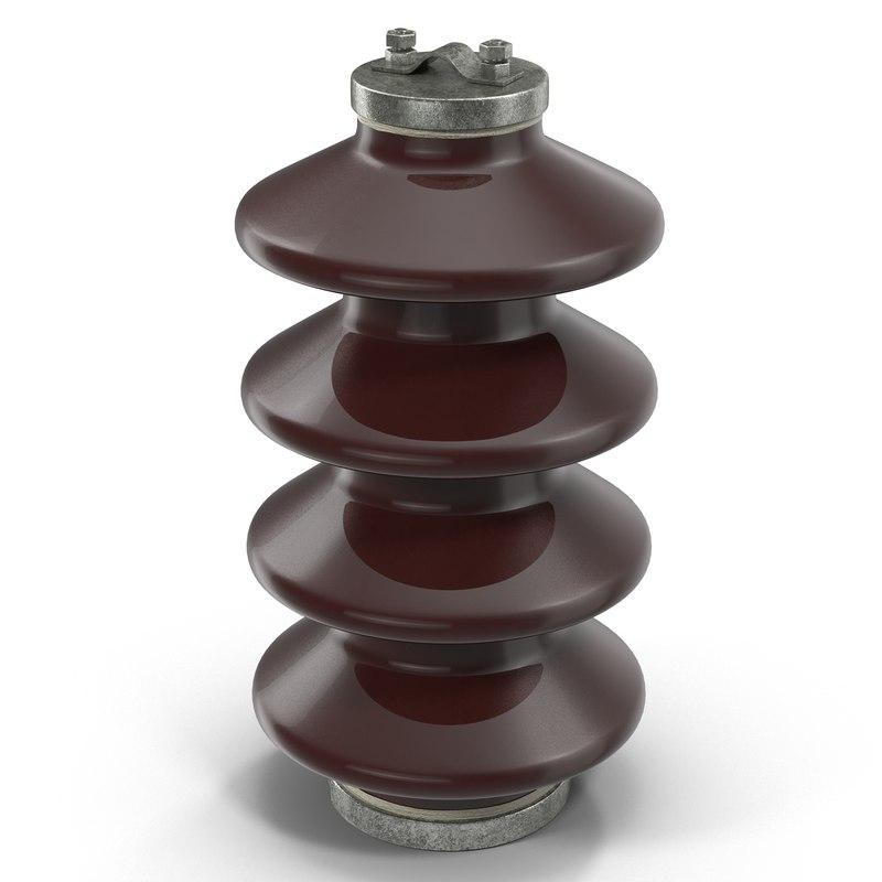 ceramic insulator 3d model