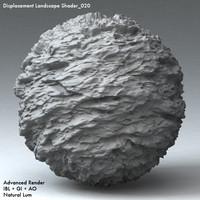 Displacement Landscape Shader_020