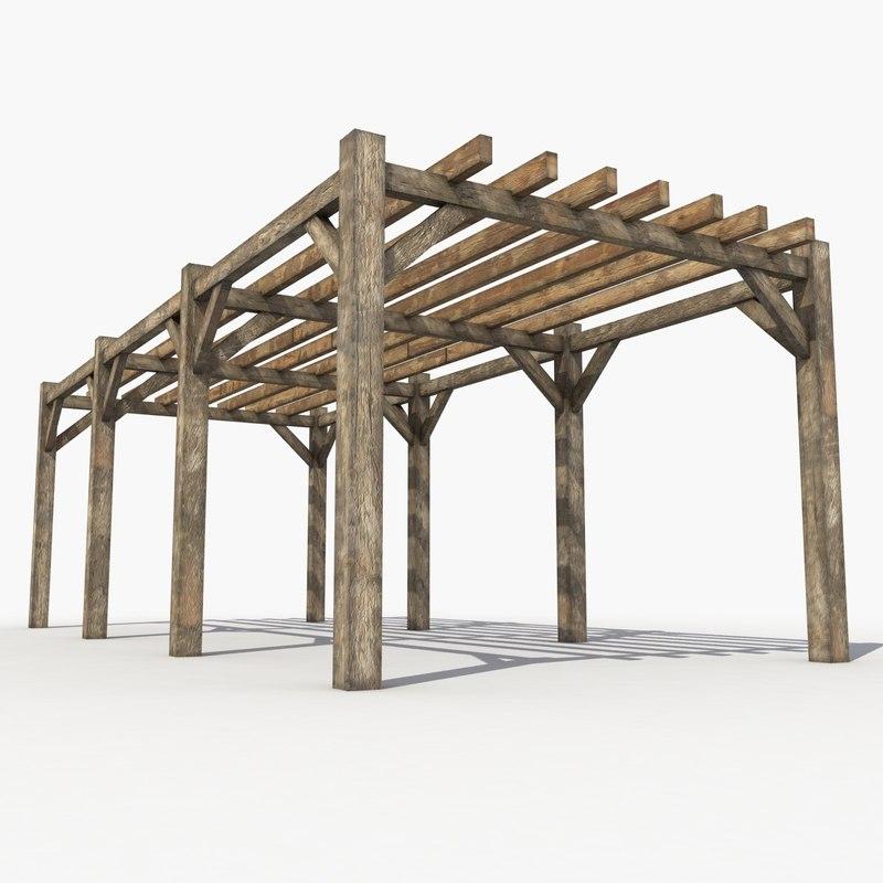 max pergola wood wooden