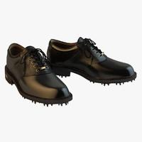 Ecco - Gtx Black Golf Shoes