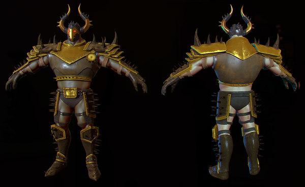 max heavy warrior