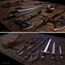 Medieval Weapons pack