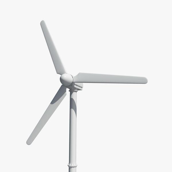 obj turbine wind