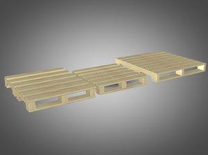 3ds wooden pallets