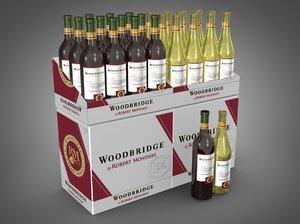 3d model of cases woodbridge wines