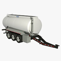 lwo 32ft pony tanker trailer