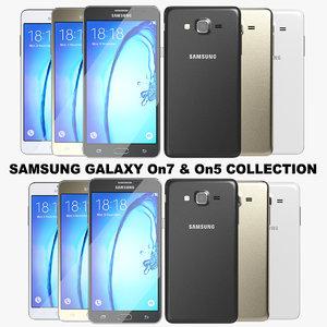 3ds realistic samsung galaxy on7